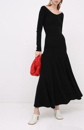 Женское шерстяное платье MARNI черного цвета, арт. ABMD0055A3/FH512 | Фото 2
