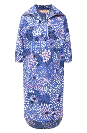 Женское платье MARNI фиолетового цвета, арт. ABMA0480A0/TCZ21 | Фото 1