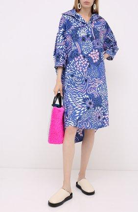 Женское платье MARNI фиолетового цвета, арт. ABMA0480A0/TCZ21 | Фото 2