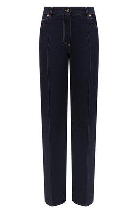 Женские джинсы VALENTINO темно-синего цвета, арт. UB3DD10K5K8 | Фото 1