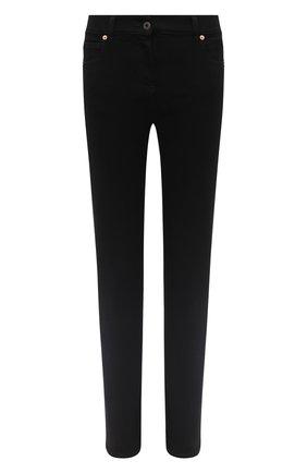Женские джинсы VALENTINO черного цвета, арт. UB3DD10V55B | Фото 1
