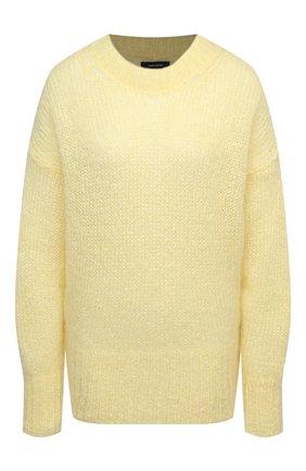 Женская шерстяной свитер ISABEL MARANT желтого цвета, арт. PU1386-20A041I/ESTELLE | Фото 1