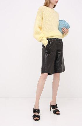 Женская шерстяной свитер ISABEL MARANT желтого цвета, арт. PU1386-20A041I/ESTELLE | Фото 2