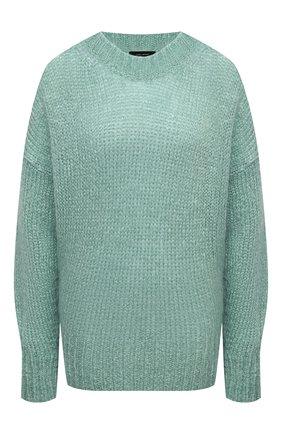 Женская шерстяной свитер ISABEL MARANT зеленого цвета, арт. PU1386-20A041I/ESTELLE | Фото 1