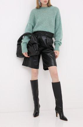 Женская шерстяной свитер ISABEL MARANT зеленого цвета, арт. PU1386-20A041I/ESTELLE | Фото 2