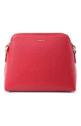 Женская набор из кожаной сумки-кошелька boheme с косметичкой и визитницей FURLA розового цвета, арт. EBC7B90/ARE000 | Фото 2