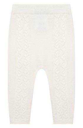 Детские кашемировые брюки LORO PIANA белого цвета, арт. FAI7293 | Фото 2