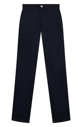 Детские хлопковые брюки ALESSANDRO BORELLI MILANO синего цвета, арт. 20202 | Фото 1