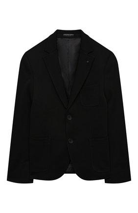 Детский пиджак ALESSANDRO BORELLI MILANO черного цвета, арт. JK20212T-20л | Фото 1