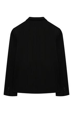 Детский пиджак ALESSANDRO BORELLI MILANO черного цвета, арт. JK20212T-20л | Фото 2