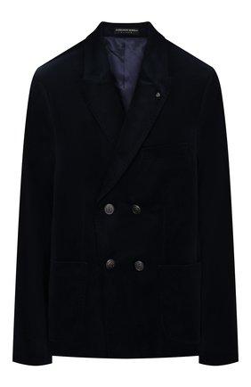 Детский пиджак ALESSANDRO BORELLI MILANO синего цвета, арт. JK20222B-20л | Фото 1