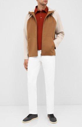 Мужская кашемировая куртка LORO PIANA бежевого цвета, арт. FAL3031 | Фото 2