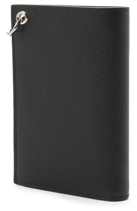 Мужской кожаное портмоне SAINT LAURENT черного цвета, арт. 584104/BTY0N | Фото 2