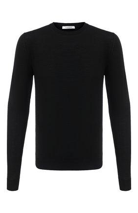 Мужской шерстяной джемпер VALENTINO черного цвета, арт. UV3KC23U4NW | Фото 1