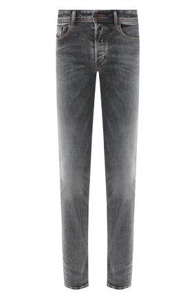 Мужские джинсы DIESEL серого цвета, арт. 00SWJF/009FW | Фото 1