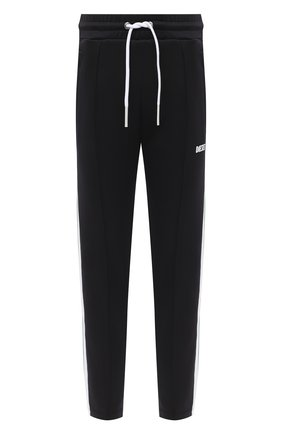 Мужской брюки DIESEL черного цвета, арт. A00078/0KUTI | Фото 1