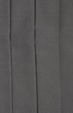 Мужской камербанд из хлопка и шелка BRUNELLO CUCINELLI серого цвета, арт. MR813S005   Фото 3 (Материал: Текстиль, Хлопок)