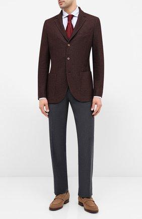 Мужской брюки из шерсти и кашемира ZILLI серого цвета, арт. M0U-40-38P-D6304/0001 | Фото 2