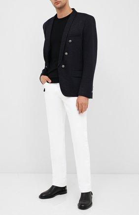 Мужской шерстяной пиджак BALMAIN темно-синего цвета, арт. UH17139/J210 | Фото 2