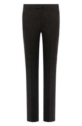 Мужской шерстяные брюки LORO PIANA коричневого цвета, арт. FAL3004 | Фото 1