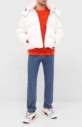 Мужская пуховая куртка VALENTINO белого цвета, арт. UV3CNB006PH | Фото 2