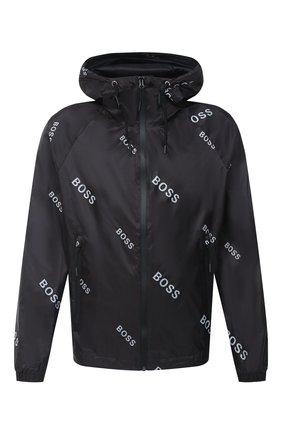 Мужская куртка BOSS черно-белого цвета, арт. 50435752 | Фото 1
