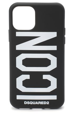 Мужской чехол для iphone 11 pro DSQUARED2 черно-белого цвета, арт. ITM0093 55000001   Фото 1
