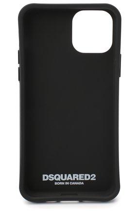 Мужской чехол для iphone 11 pro DSQUARED2 черно-белого цвета, арт. ITM0093 55000001   Фото 2