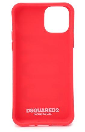 Мужской чехол для iphone 11 pro DSQUARED2 красного цвета, арт. ITM0093 55000001 | Фото 2