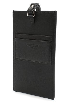 Мужского кожаный чехол для iphone DSQUARED2 черно-белого цвета, арт. P0M0012 12903205   Фото 2