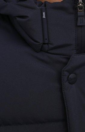 Мужская пуховик HERNO синего цвета, арт. PI147UL/11106 | Фото 5