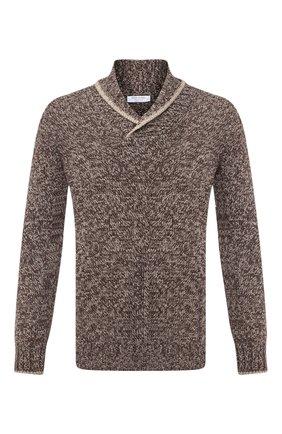 Мужской шерстяной свитер GRAN SASSO коричневого цвета, арт. 10107/25701 | Фото 1