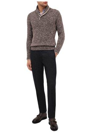 Мужской шерстяной свитер GRAN SASSO коричневого цвета, арт. 10107/25701 | Фото 2