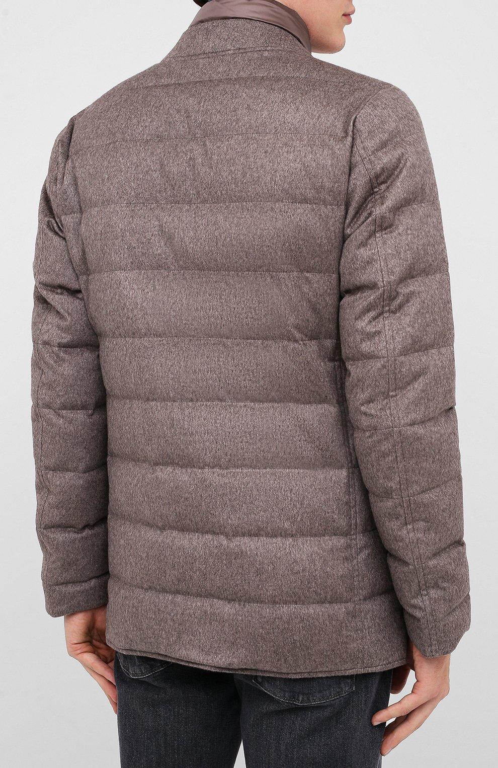 Мужская пуховая куртка HERNO темно-бежевого цвета, арт. PI0583U/38087 | Фото 4