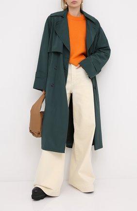 Женская кашемировый свитер VALENTINO оранжевого цвета, арт. UB3KCB395MJ   Фото 2