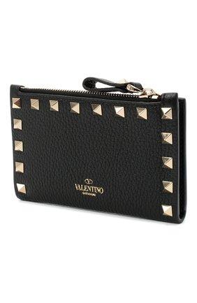 Женские кожаное портмоне valentino garavani VALENTINO черного цвета, арт. UW2P0605/VSH | Фото 2
