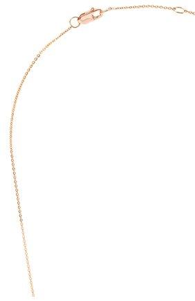 Женская колье J-POINT золотого цвета, арт. ИПГ857.54.010719.8P | Фото 3 (Материал: Золото)