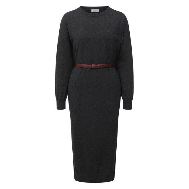 Кашемировое платье Brunello Cucinelli