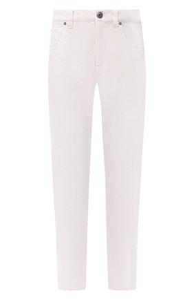 Женские джинсы BRUNELLO CUCINELLI белого цвета, арт. MPH43P5524 | Фото 1