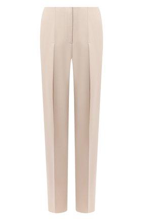Женские брюки GIORGIO ARMANI бежевого цвета, арт. 0WHPP0DG/T01V0   Фото 1