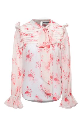 Женская блузка SELF-PORTRAIT розового цвета, арт. PF20-115 | Фото 1