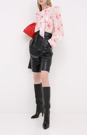 Женская блузка SELF-PORTRAIT розового цвета, арт. PF20-115 | Фото 2