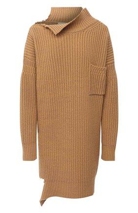 Женская шерстяной свитер MARNI бежевого цвета, арт. DVMD0096Q0/FH573 | Фото 1
