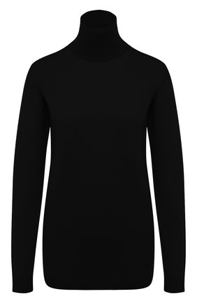 Женская водолазка из кашемира и шелка VALENTINO черного цвета, арт. UB3KC17A5S7 | Фото 1