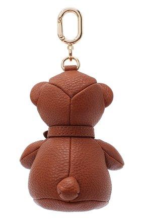 Женский кожаный брелок FURLA коричневого цвета, арт. RAQ5SFR/4FC000 | Фото 2