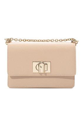 Женская сумка furla 1927 mini FURLA кремвого цвета, арт. BAFKACO/ARE000   Фото 1