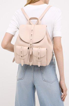 Женский рюкзак net FURLA светло-розового цвета, арт. BACWFUA/HSF000 | Фото 2