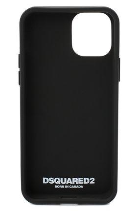 Мужской чехол для iphone 11 pro DSQUARED2 черно-белого цвета, арт. ITM0092 55000001 | Фото 2