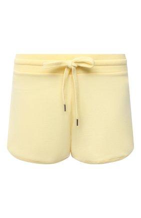 Женские хлопковые шорты MEY желтого цвета, арт. 16 379 | Фото 1