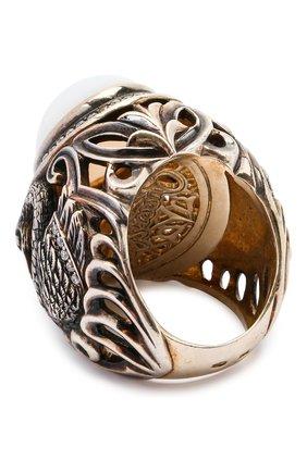 Женское кольцо swan QUEENSBEE разноцветного цвета, арт. 102095/25,77 | Фото 2